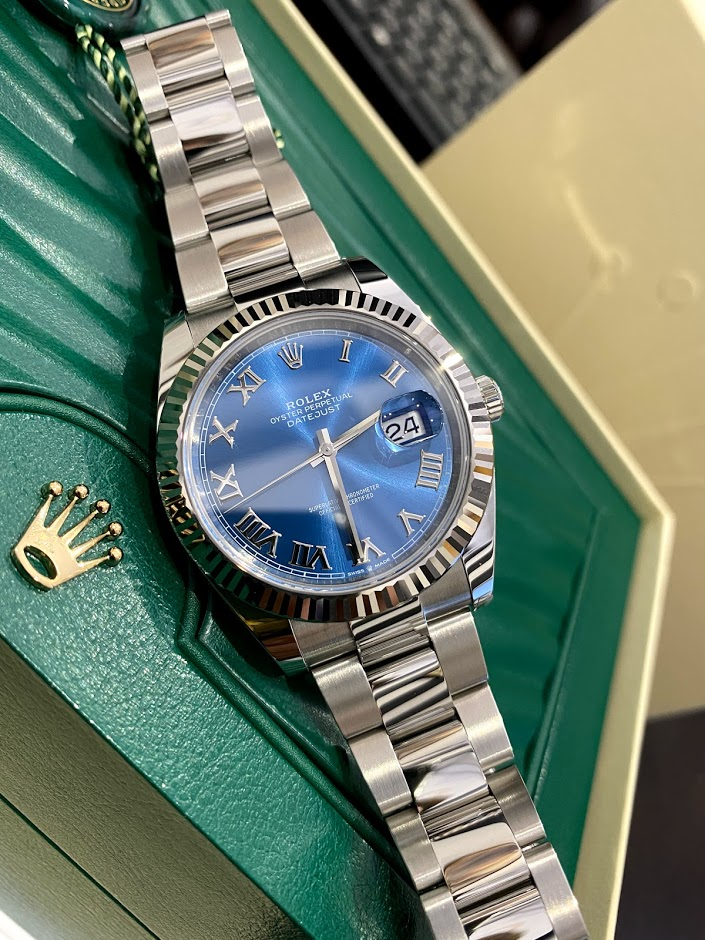Datejust 41mm Steel and White Gold 126334-0025 #1