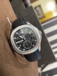 Швейцарские часы Patek Philippe Aquanaut Travel Time 5164A-001