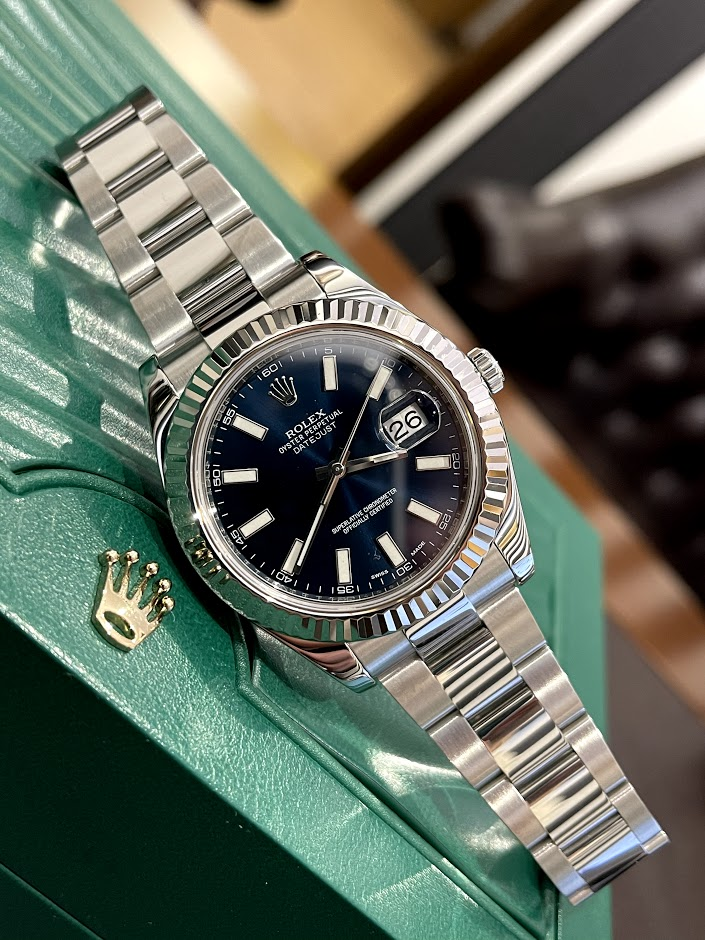 Datejust II 41mm Steel and White Gold 116334-0005 #1