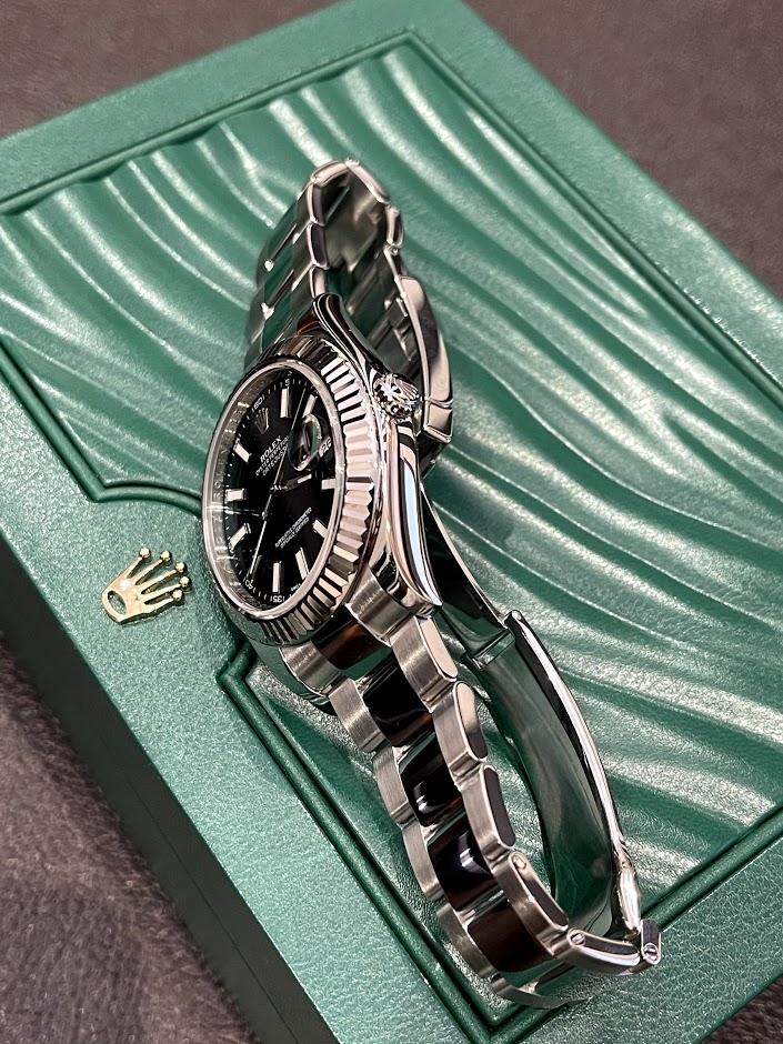 Datejust II 41mm Steel and White Gold 116334-0005 #3