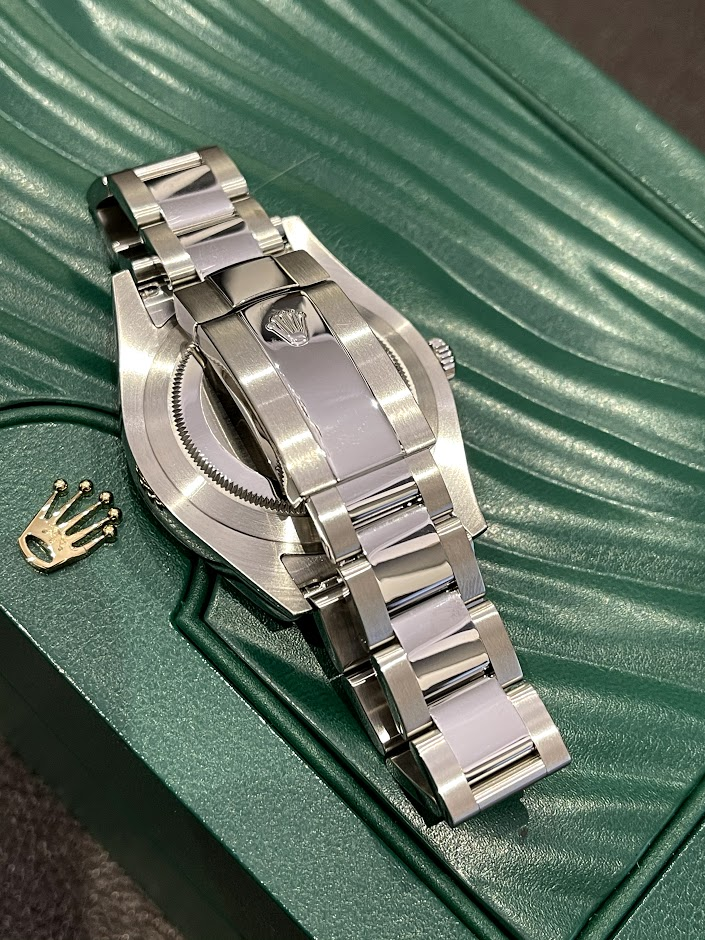Datejust II 41mm Steel and White Gold 116334-0005 #4