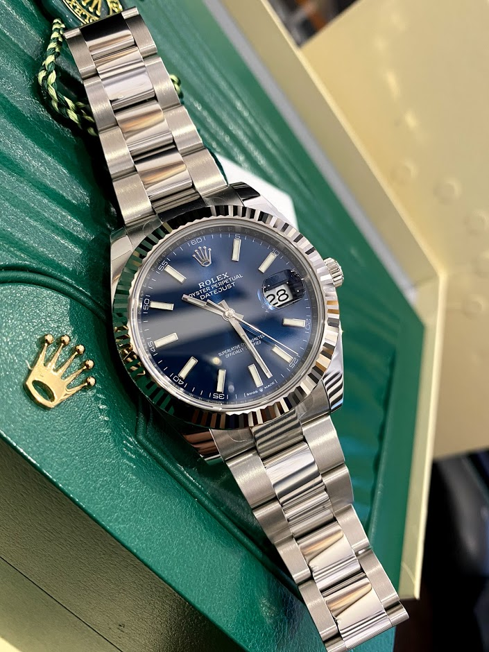 Datejust 41 mm, steel and white gold 126334-0001 #1