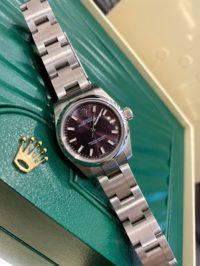 Швейцарские часы Rolex Perpetual 26 mm, Oystersteel 176200