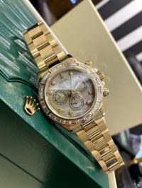 Швейцарские часы Rolex Daytona Cosmograph 40mm Yellow Gold and diamond 116528