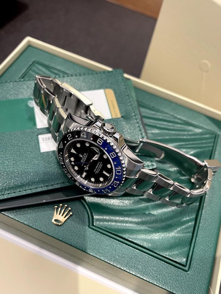 GMT-Master II 40 mm, Oystersteel 116710blnr-0002 #3