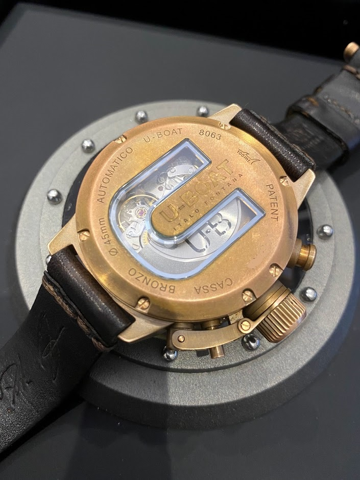 Classico 45mm chrono bronzo 8063 #2