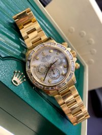 Daytona Cosmograph 40mm Yellow Gold and diamond 116528
