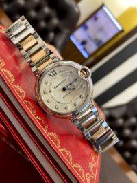 Швейцарские часы Cartier Ballon Bleu de Cartier Automatic 36 mm W3BB0018