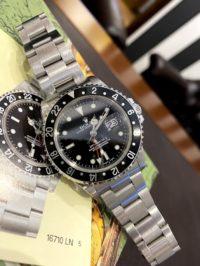 Швейцарские часы Rolex GMT-Master II 16710