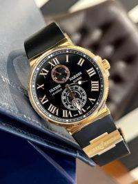 Швейцарские часы Ulysse Nardin Maxi Marine Chronometer 43mm 266-67-3/42