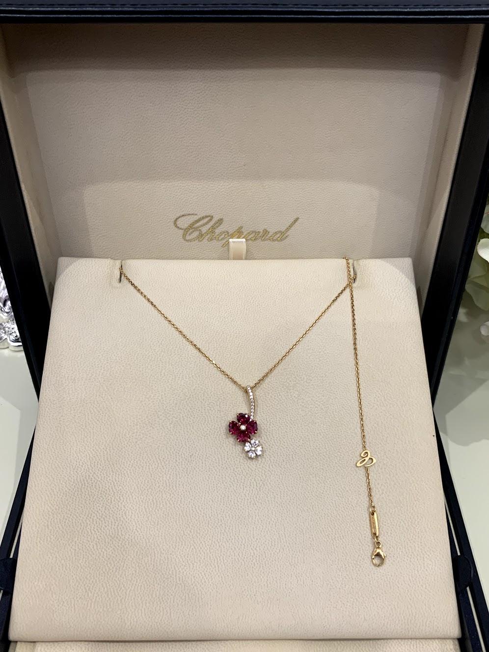 ПОДВЕСКА FOR YOU RUBIES AND DIAMONDS #1