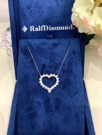 Подвеска RALFDIAMONDS HEART DIAMONDS LARGE MODEL