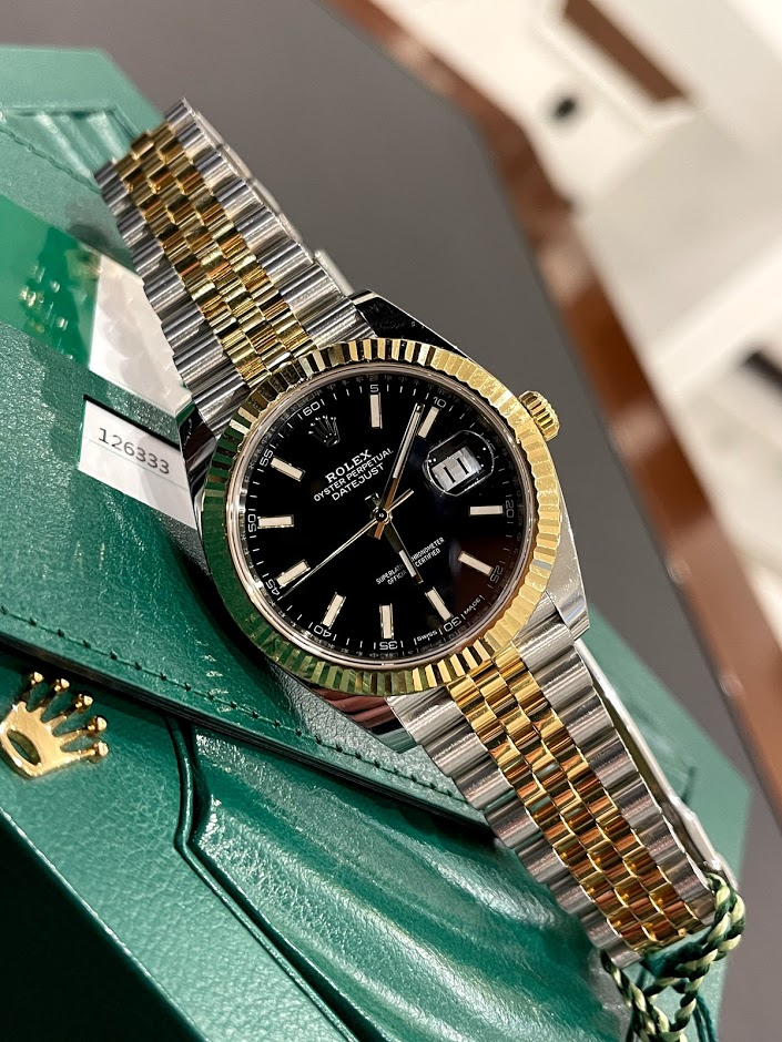 Datejust 41mm Steel and Yellow Gold 126333-0014 #1