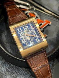 Швейцарские часы Richard Mille Watches RM 016 Rose Gold Automatic RM 016 AJ RG