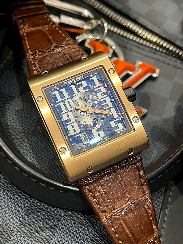 Watches RM 016 Rose Gold Automatic RM 016 AJ RG #1