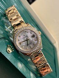 Швейцарские часы Rolex Day-Date MASTERPIECE 18948