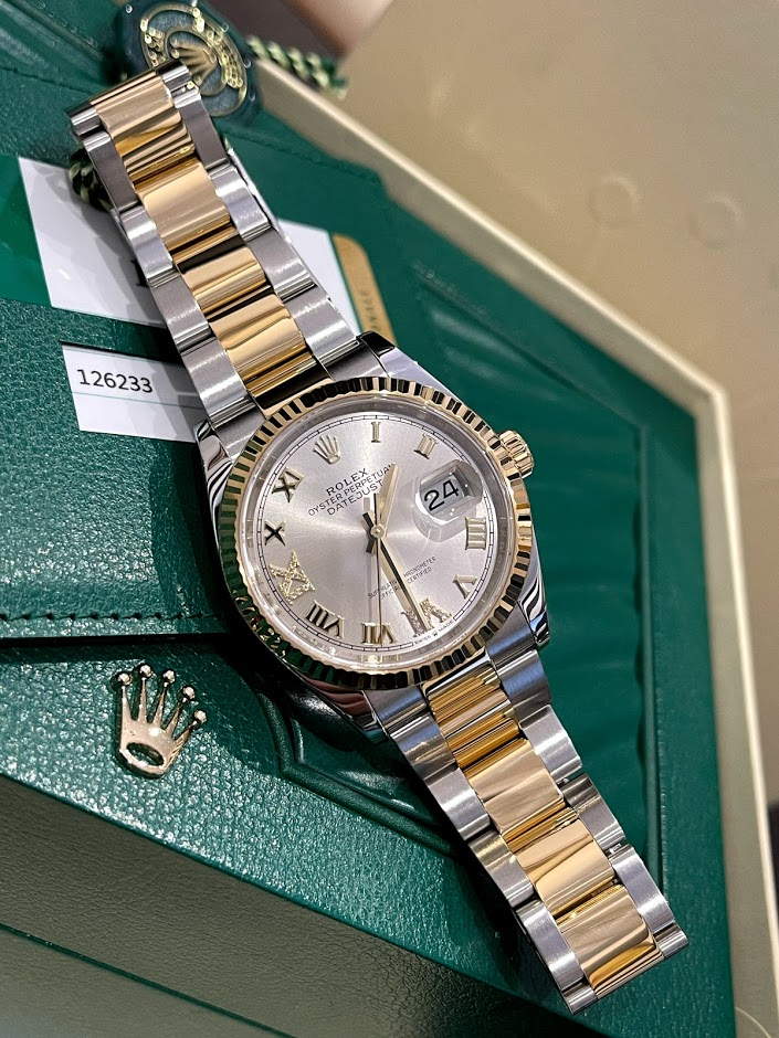 Datejust 36 mm, Oystersteel and yellow gold 126233-0032 #1
