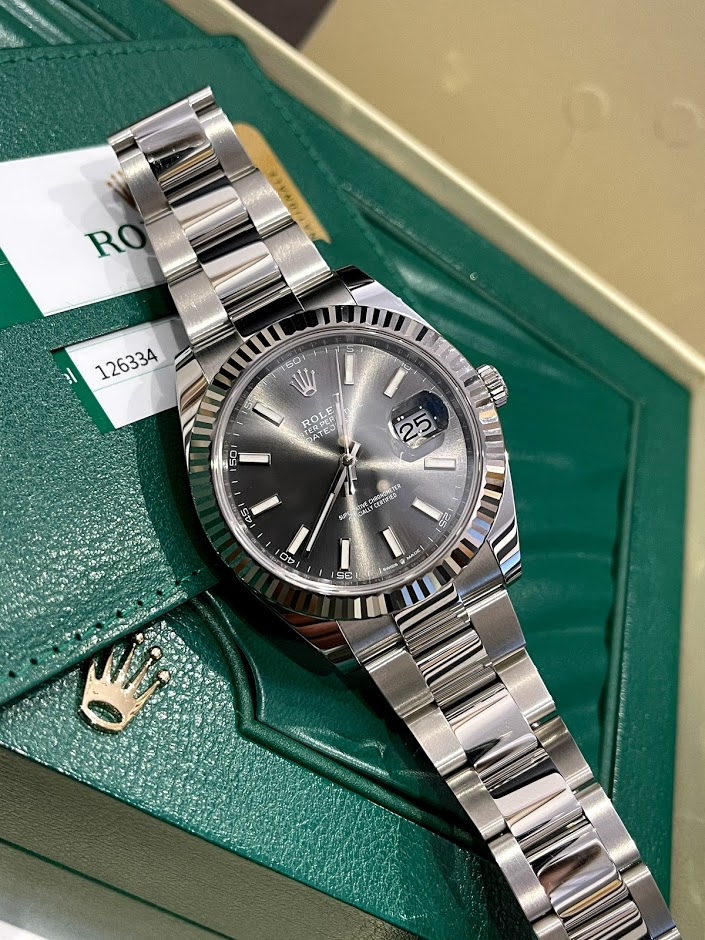 Datejust 41mm Steel and White Gold 126334-0013 #1