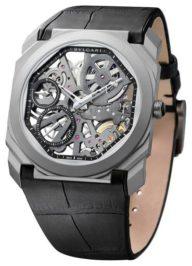 Швейцарские часы Bvlgari Gerald Genta Octo Finissimo Skeleton 102714