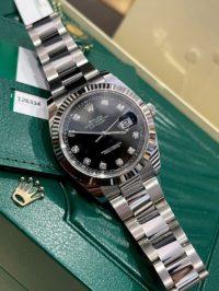 Швейцарские часы Rolex Datejust 41mm Steel and White Gold 126334-0011