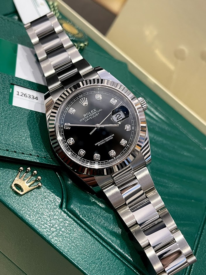 Datejust 41mm Steel and White Gold 126334-0011 #1