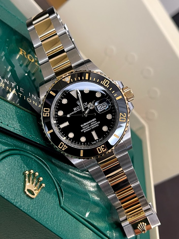 Submariner Date 41 mm Steel and Yellow Gold 126613ln-0002 #1