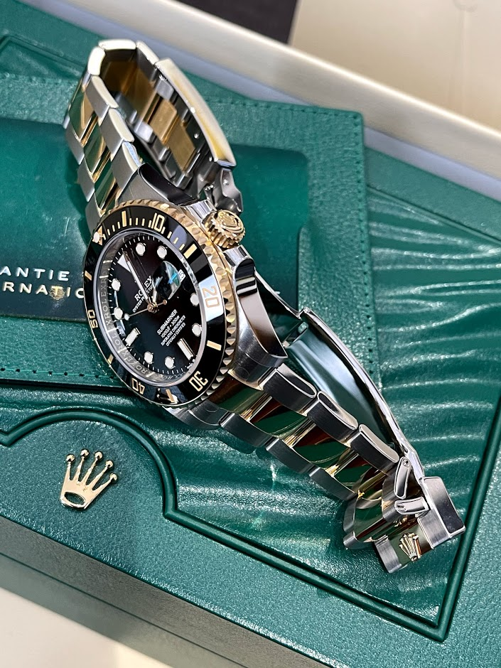 Submariner Date 41 mm Steel and Yellow Gold 126613ln-0002 #3
