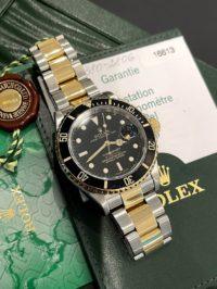 Швейцарские часы Rolex Submariner Date 40mm Steel and Yellow Gold 16613