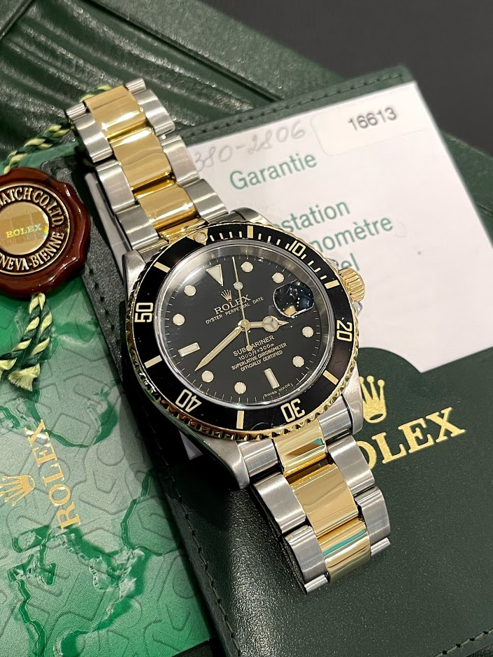 Submariner Date 40mm Steel and Yellow Gold 16613 #1
