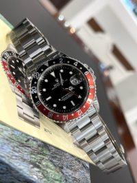 Швейцарские часы Rolex GMT-Master II 40mm 16710