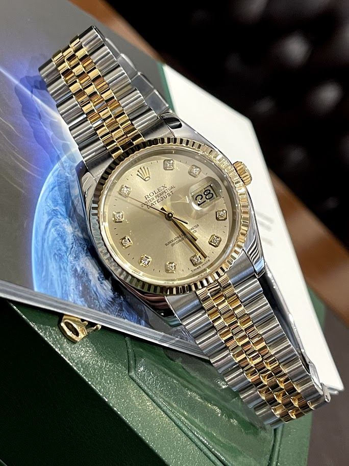 Oyster Datejust 36mm Steel and Yellow Gold 116233-chdj #1