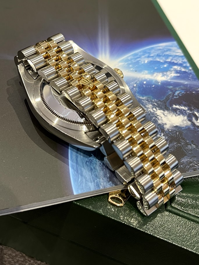 Oyster Datejust 36mm Steel and Yellow Gold 116233-chdj #5