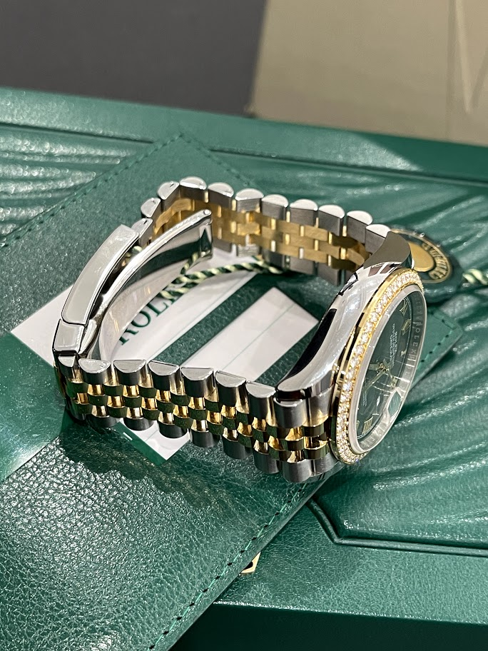 Datejust 36 mm, Oystersteel, yellow gold and diamonds 126283rbr-0011 #5