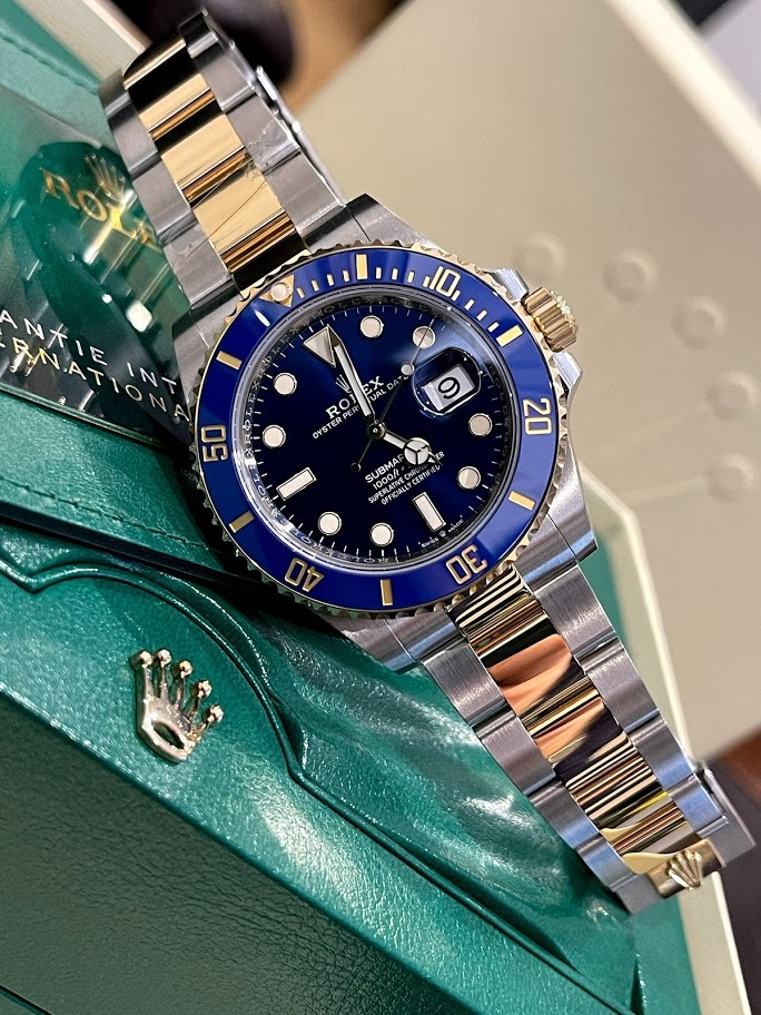 Submariner Date 41 mm Steel and Yellow Gold 126613lb-0002 #1