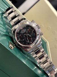 Швейцарские часы Rolex Daytona Cosmograph 40mm White Gold 116509