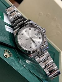 Швейцарские часы Rolex Datejust 41mm Steel and White Gold 116334