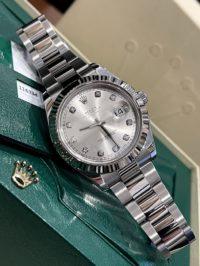 Швейцарские часы Rolex Datejust 41mm Steel and White Gold 116334