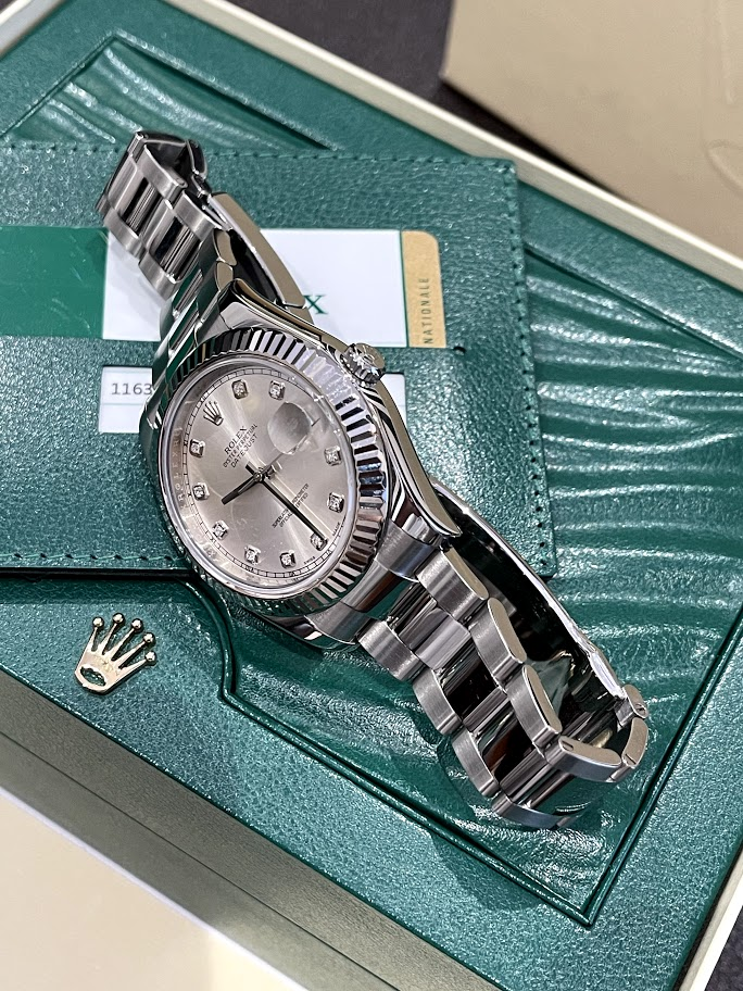 Datejust 41mm Steel and White Gold 116334 #3