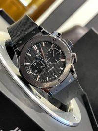 Швейцарские часы Hublot Classic Fusion Chronograph Black Magic 521.CM.1771.RX
