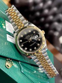 Швейцарские часы Rolex Datejust 41mm Steel and Yellow Gold 126333-0006