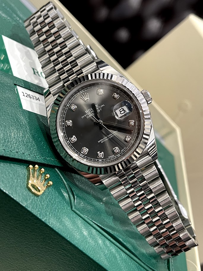 Datejust 41mm Steel and White Gold 126334-0006 #1