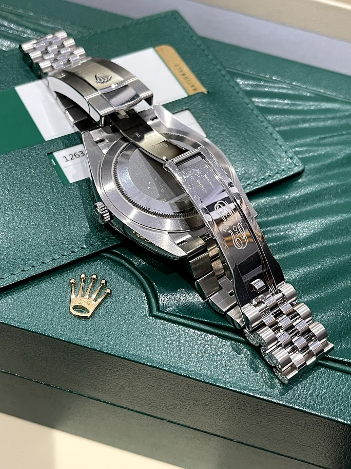 Datejust 41mm Steel and White Gold 126334-0006 #2