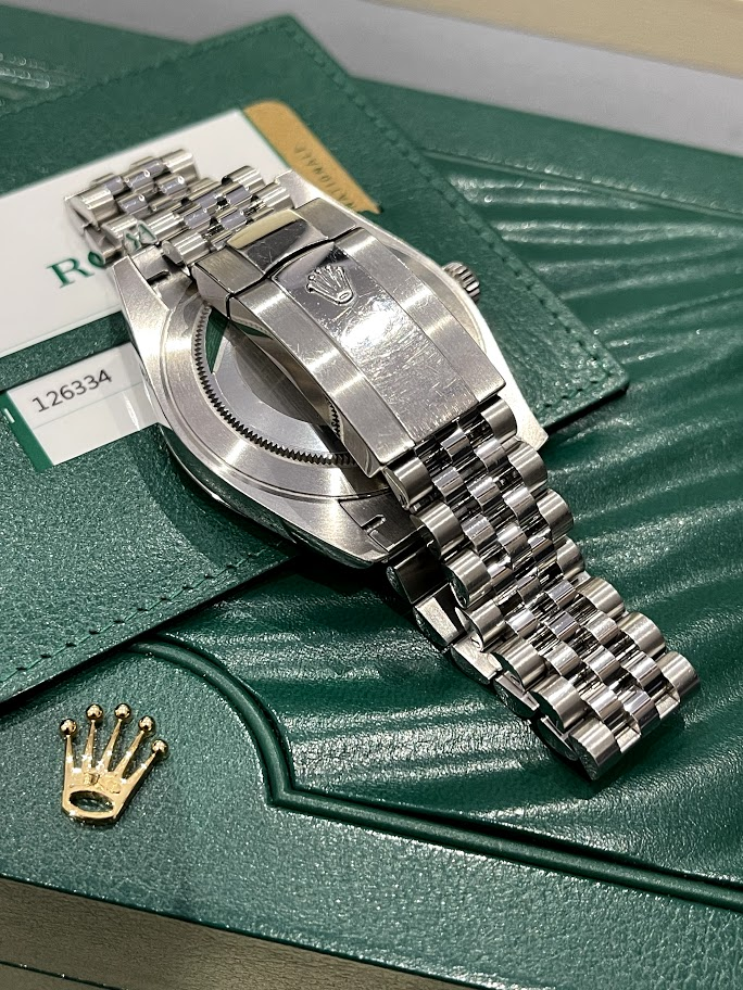 Datejust 41mm Steel and White Gold 126334-0006 #5