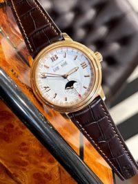 Швейцарские часы Blancpain Léman Moon Phase Complete Calendar 38mm 2763-3642A-53