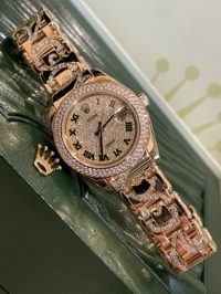 Швейцарские часы Rolex Pearlmaster 34 mm Yellow Gold 81338-0018