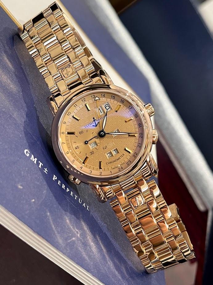 Perpetual Calendars GMT Copper 322-88-8 #1