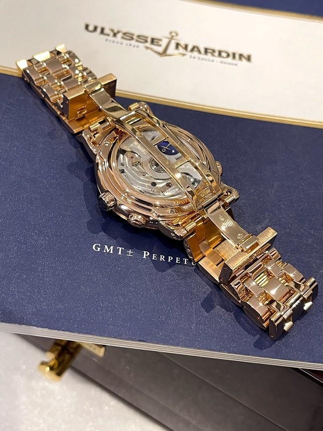 Perpetual Calendars GMT Copper 322-88-8 #2