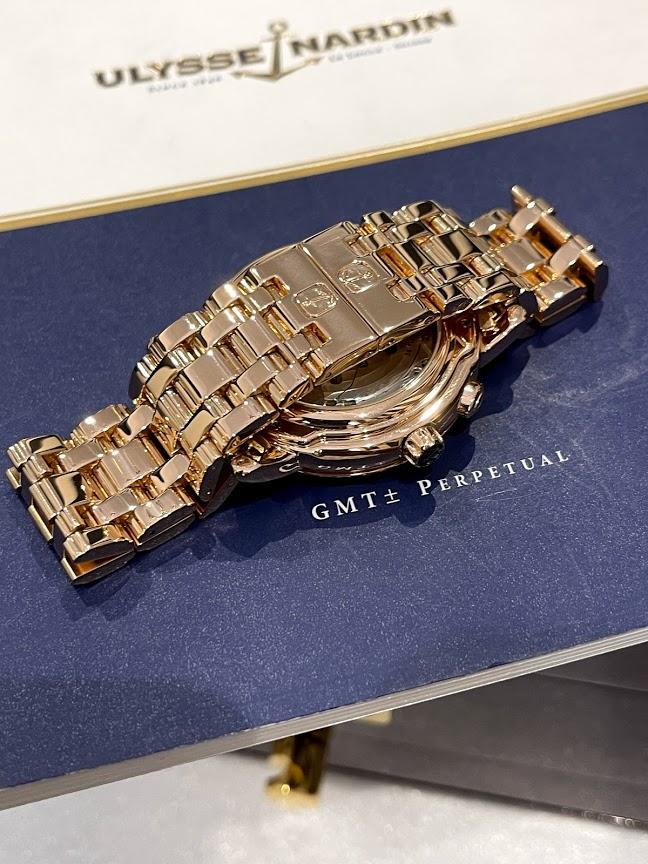 Perpetual Calendars GMT Copper 322-88-8 #4