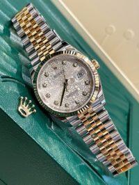 Швейцарские часы Rolex Datejust 36mm Steel and Yellow Gold 126233-0027