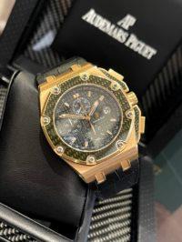 Швейцарские часы Audemars Piguet Royal Oak Offshore  Montoya 26030RO.OO.D001IN.01